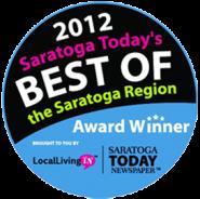 Saratoga Today Award Winner