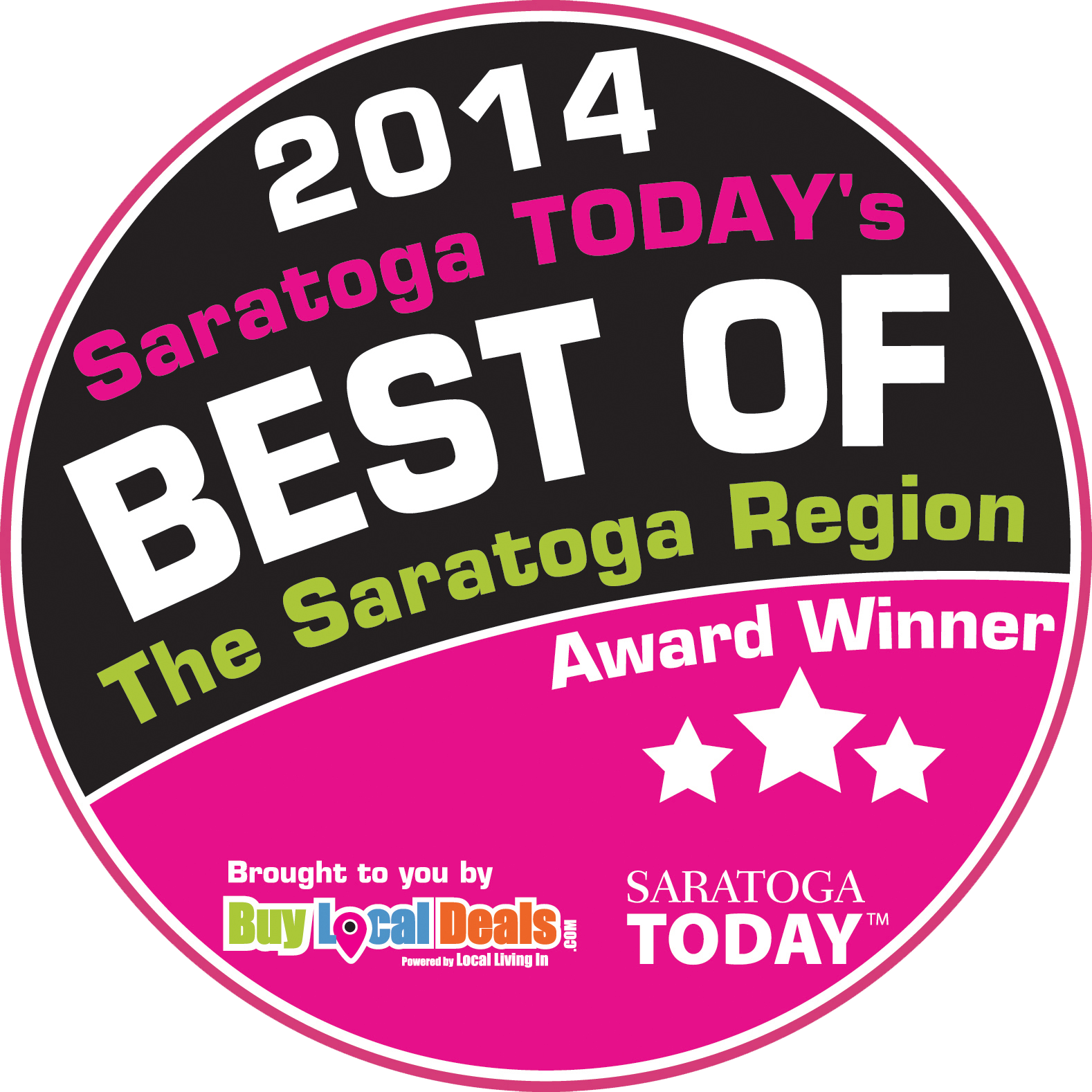 saratoga today best of 2014