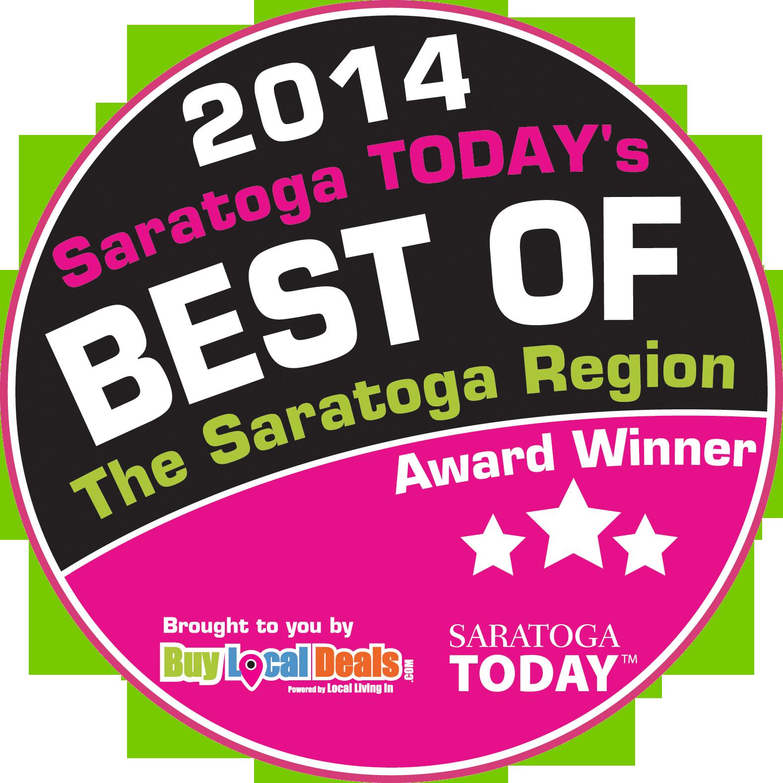saratoga today best of 2014